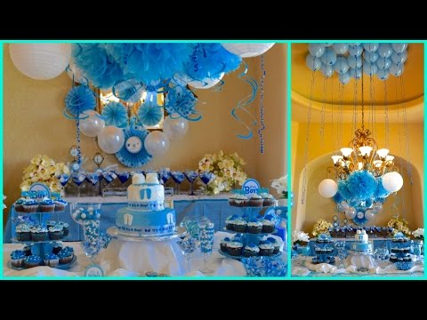 Get Quotations · BABY SHOWER IDEAS 2015 FOR BOY BLUE THEME