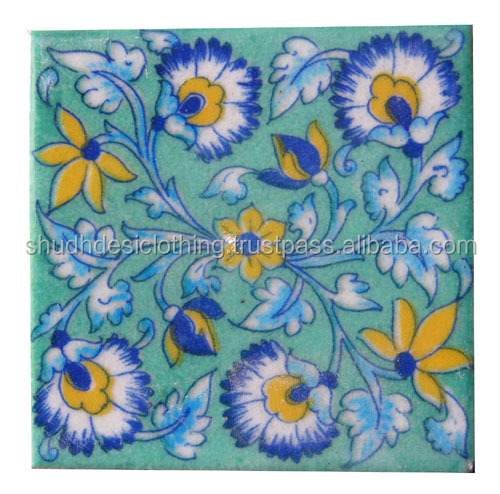 Kitchen Decor Tiles Ideas Jaipur Blue Pottery Tiles Buy Kitchen Decor Tiles Decorative Embossed Tile Moduler Kitchen Tiles Blue Pottery Product On