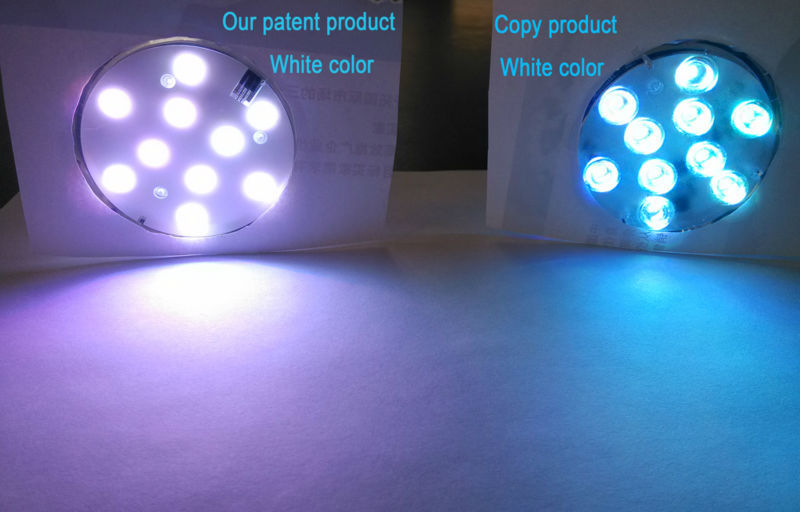 Remote Control Led Lights Under The Table, For Decor Table Skirt Lighting