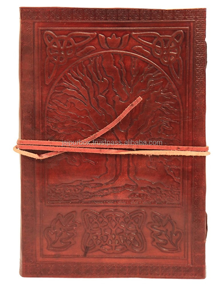 100% Cotton Recycled Paper Tree of Life Handmade Journal