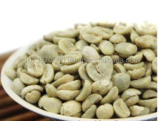 Yummy Arabica And Robusta Green Coffee Beans
