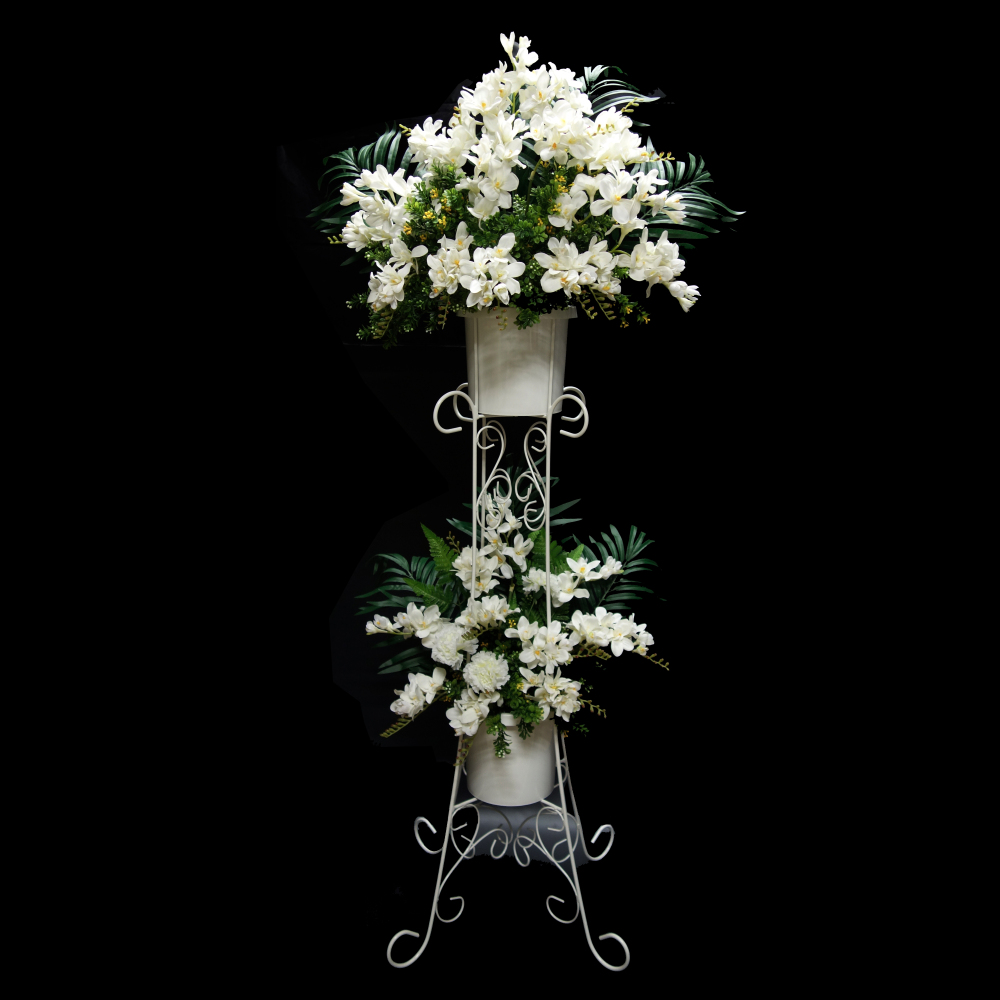 Garden flower stand steel stand floral stand wedding stand for Decoration stand