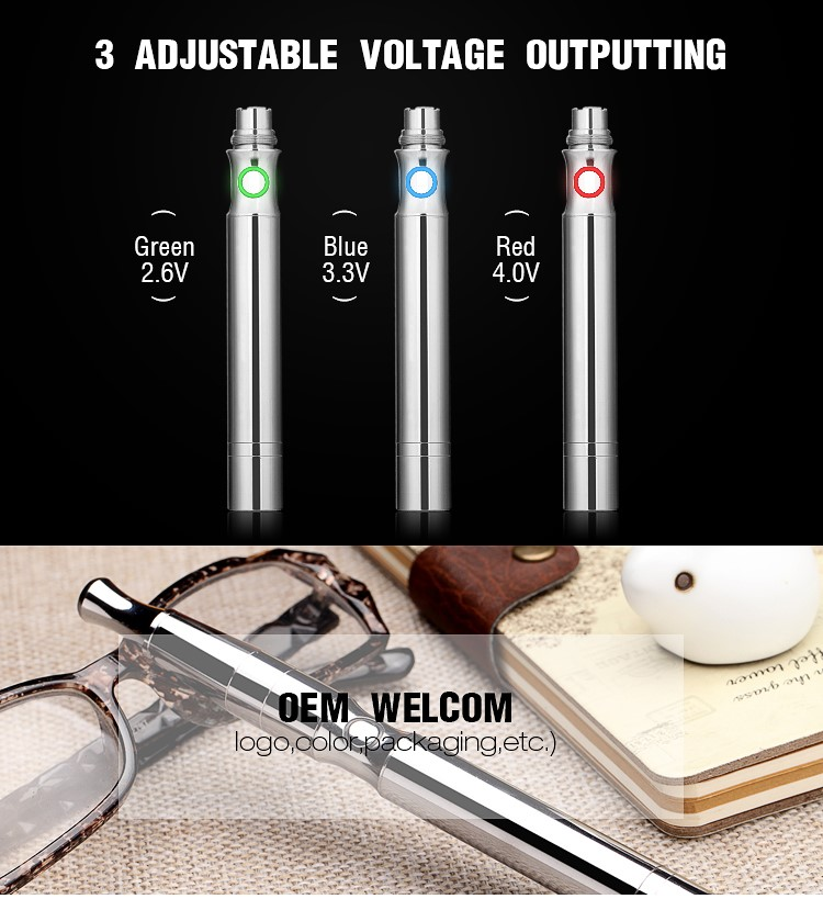 Transpring wholesale wax vaporizer pen with quartz coil