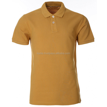 mens polo shirt in camel color - Camel Color