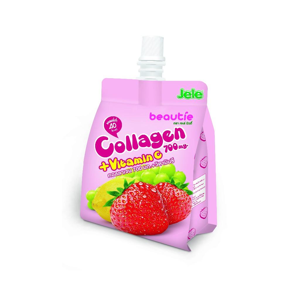 Jele Beautie Strawberry Juice Mix High Collagen And Vitamin C ...