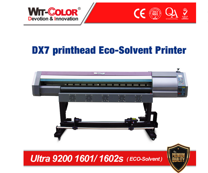 best price Wit-Color Ultra 9200 1601s/1602s DX7 eco solvent plotter