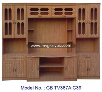 new models tv cabinet mdf furniture with showcase tv hall. Black Bedroom Furniture Sets. Home Design Ideas