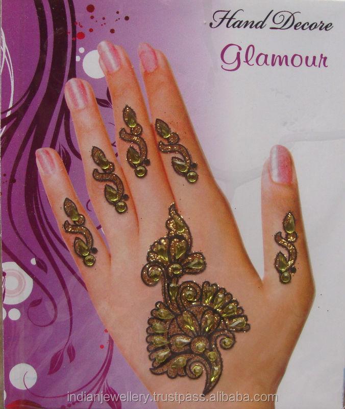 Henna Tangan Telapak Bindis Eksportir Henna Tangan Telapak Bindis