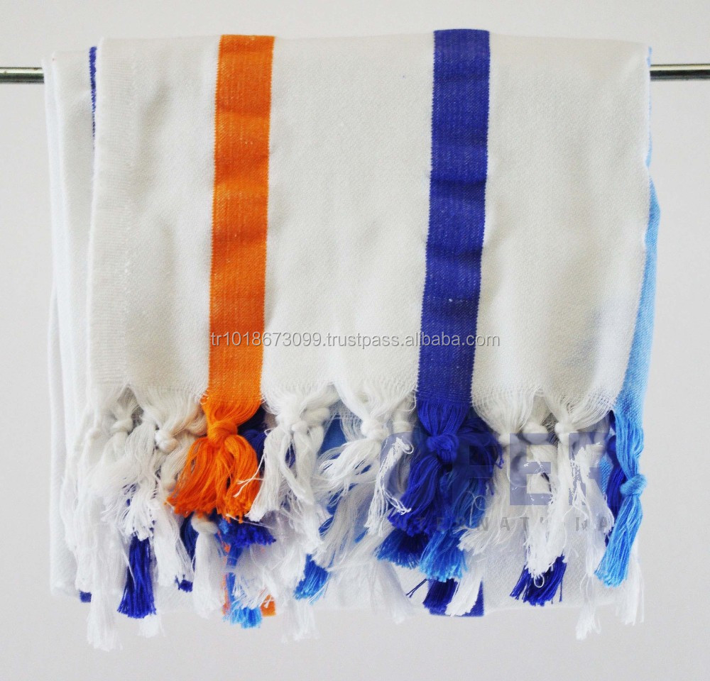 COASTAL - Turkish towel - tea towel, hammam, pestemal towel Direct from Factory, boho bohemian