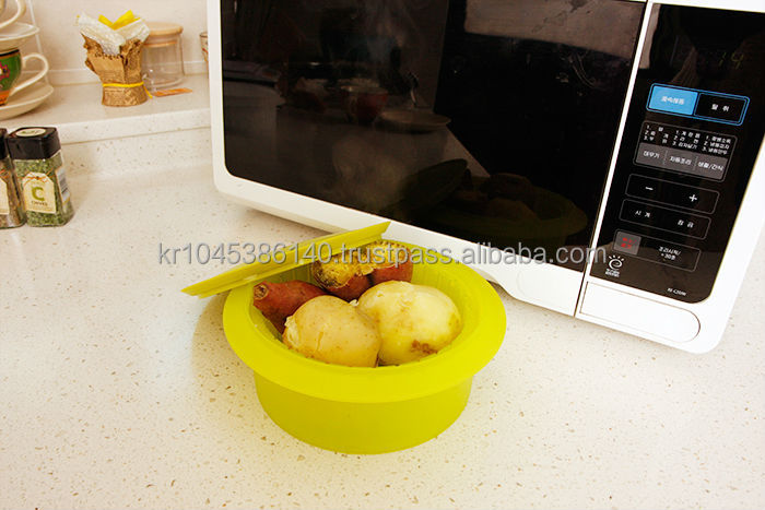 Microwave Vegetable Steamer Made In