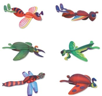 "8"" INSECT GLIDERS"