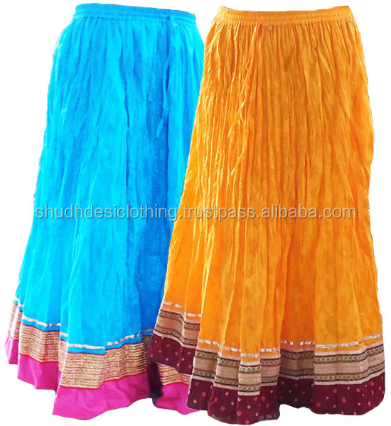 Cotton Long Skirt Buy Online Christmas Fest Wear Apparels - Buy ...