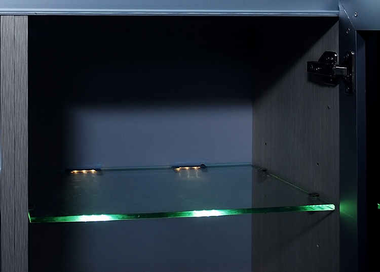 glass shelf lighting. Alminium/PC RGB Led Show Case Light, Glass Shelf Light With Thickness 5 Lighting