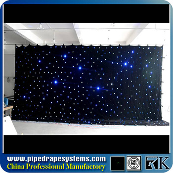 Applique Led Shower Beaded Curtain