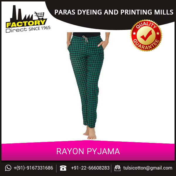 Ladies Soft Rayon Pajama Pants for Wholesale Buyers