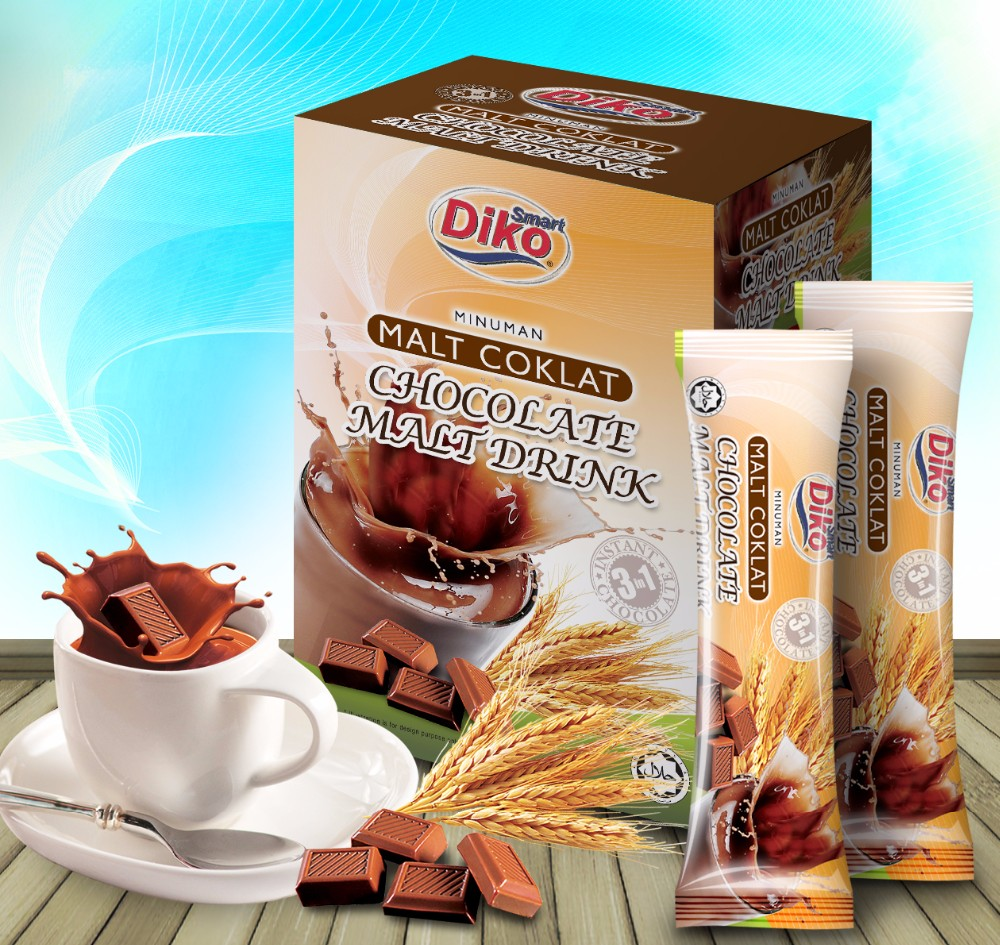 Instant White Coffee 3in1 Malaysia With Milky Taste