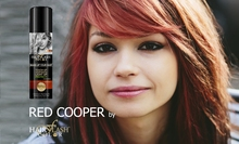 HAIR FLASH COLOR - Cooper Red - Natural Hair Care & Temporary color in 1