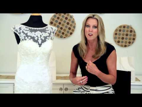 How to Get an Hourglass Figure in a Mermaid Wedding Dress : Wedding Fashions