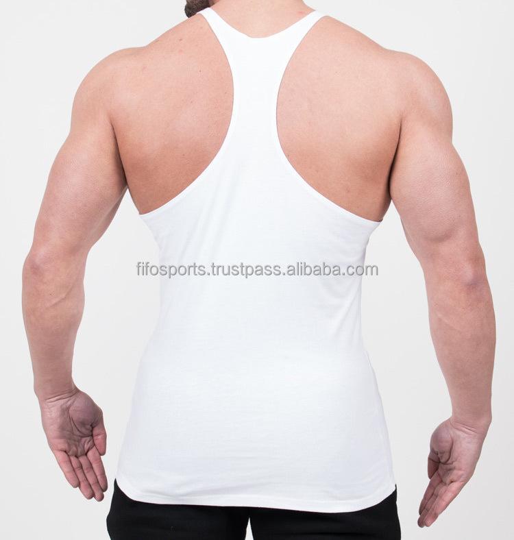 cf0c0d0d018b0c ... Golds Gym Stringer Tank Top Men Bodybuilding Clothing and Fitness Mens  Sleeveless Shirt Sports Vests Cotton