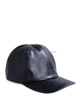 Custom made Leather baseball cap Baseball Hats Snap back closed back caps   3d printed caps cf27c206561