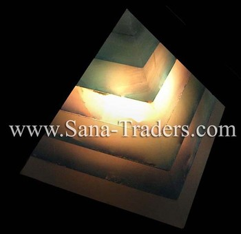 Marble Onyx Lamps / Marble Table Lamp / Pyramid Lamp / Decoration ...