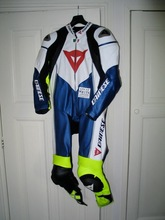 Latest motorbike / Motorcycle Racing Leather Suit - One Piece Suit