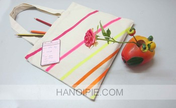 Bulk Shopping Cotton Tote Bags | Organic Handbag can be used for Promotion 041CB