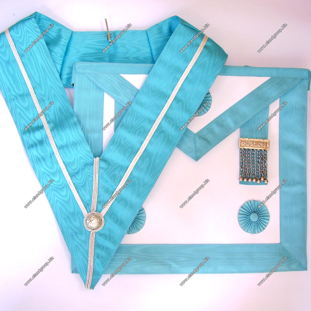 Masonic Regalia Craft Mm Apron   Craft Mm Apron With Rosettes ...