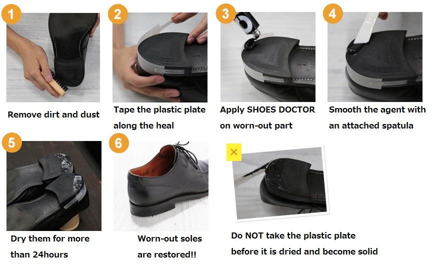 Shoe Goo Build Up Heel