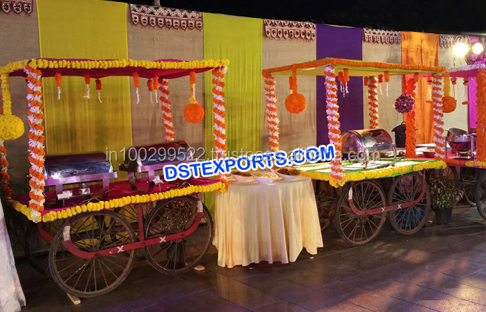 Indian Style Wedding Rehri Stall Decoration/ Hindu Wedding ...