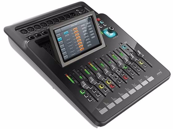 20 channel audio mixer is digital mixing console