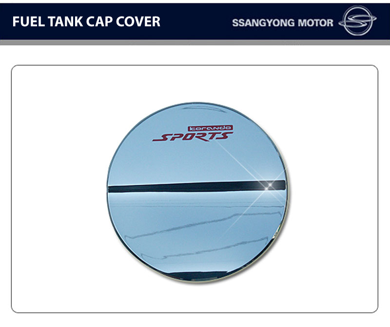 [SSANGYONG] SsangYong Korando Sports - Fuel Tank Cap Cover Chrome Molding(no.0240)