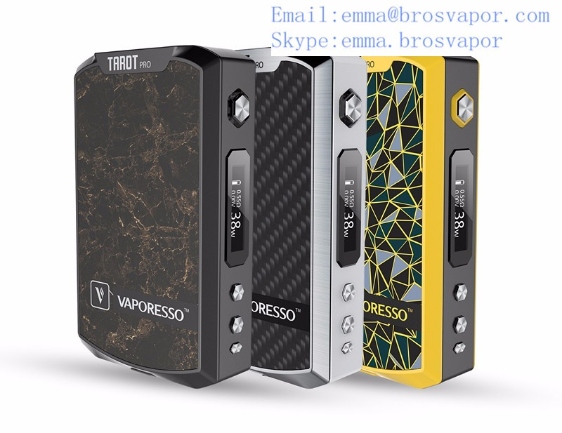 2016 Most Popular Authentic Vaporesso TAROT PRO 160W TC VW Box Mod