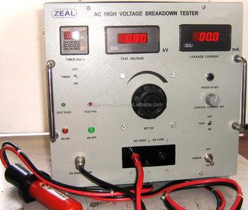 Ac High Voltage Breakdown Tester - Buy High Voltage Capacitor Tester,High  Voltage Insulation Tester,Ac High Voltage Breakdown Tester Product on