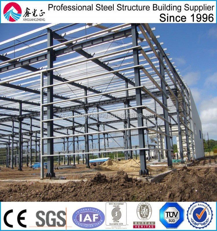 big steel prefab warehouse fabricator from china