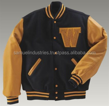 American Baseball Jackets With Custom Team Logos & Numbers & Names ...
