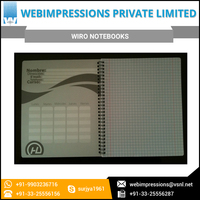 Wiro A4 Notebook Available in Custom Packing for Export Supply