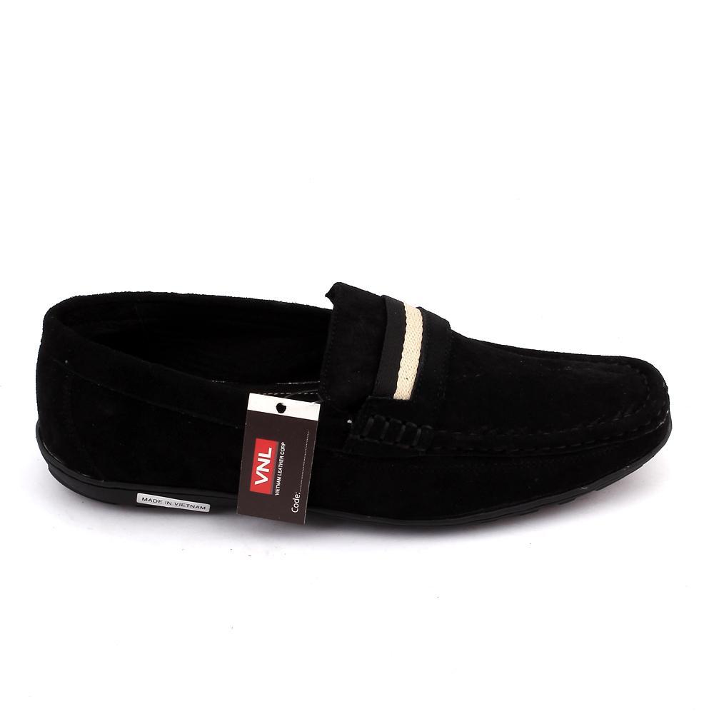Genuine Loafers Men's VNLDVL8A0L2D Leather Black fwCqPA