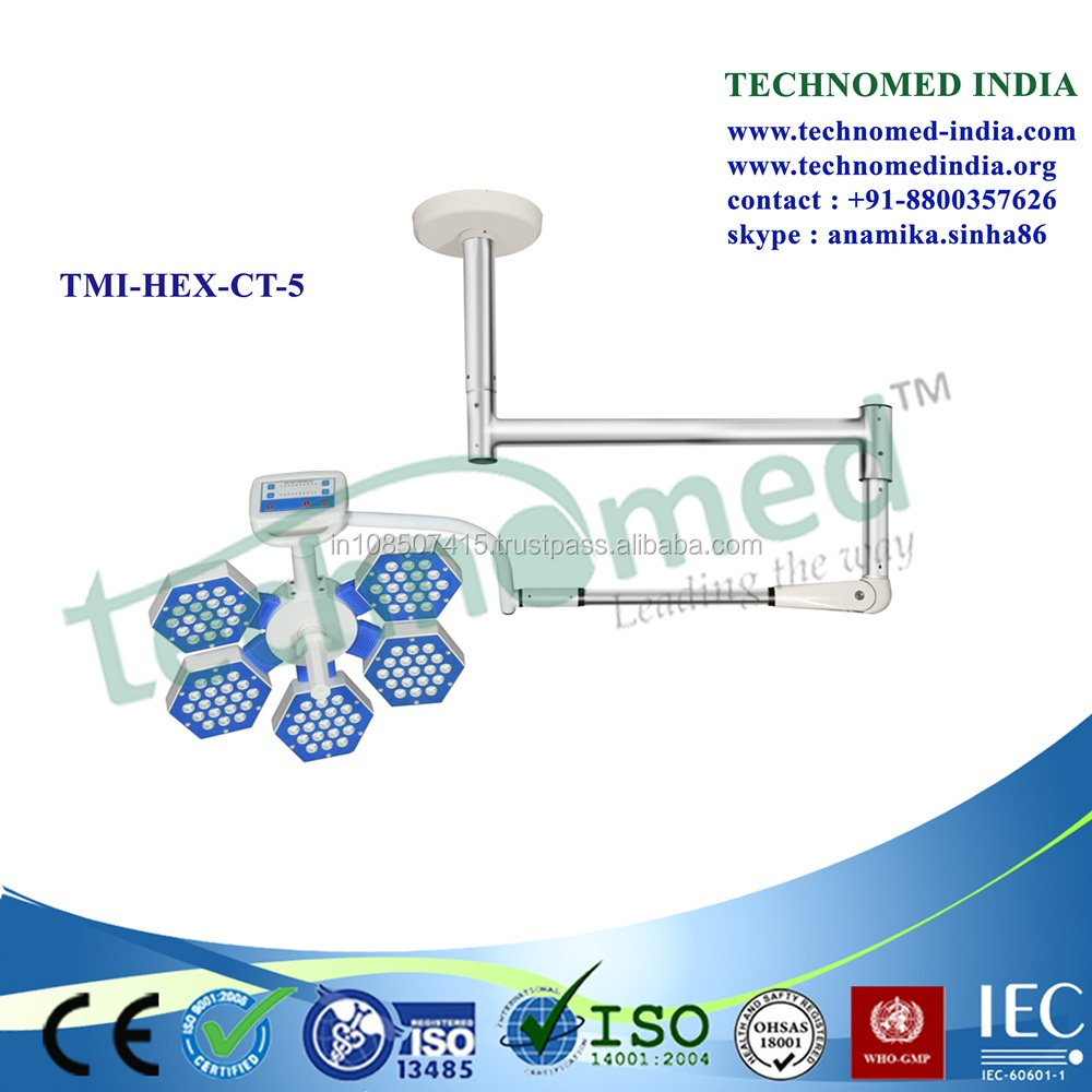 TMI-LED-CT-5 Hospital mobile operating table led shadowless lamp p
