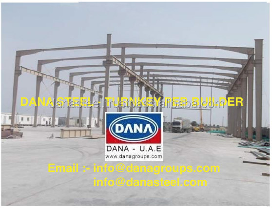 Dana Peb Steel Manufacturer - Uae Oman Qatar Bahrain Saudi Arabia - Buy  Steel Building Manufacturer,Peb Steel Uae,Dubai Steel Hangars Product on