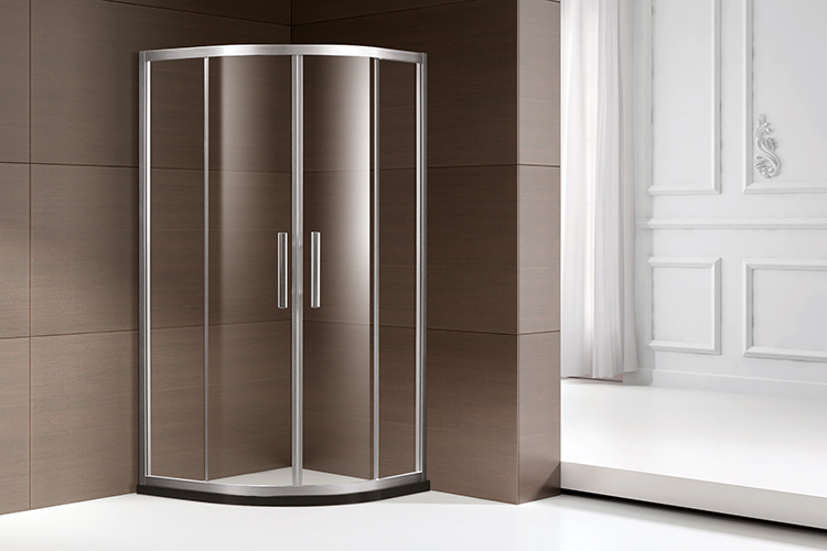 description of steel frame shower door frame only