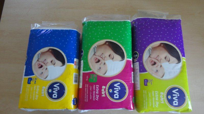 baby diapers viva turkey textile high aborbance