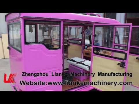 LIANKE MACHINERY passenger electric tricycle taxi)