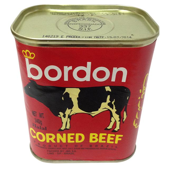 Bordon Corned Beef 340gr & 198gr for sale