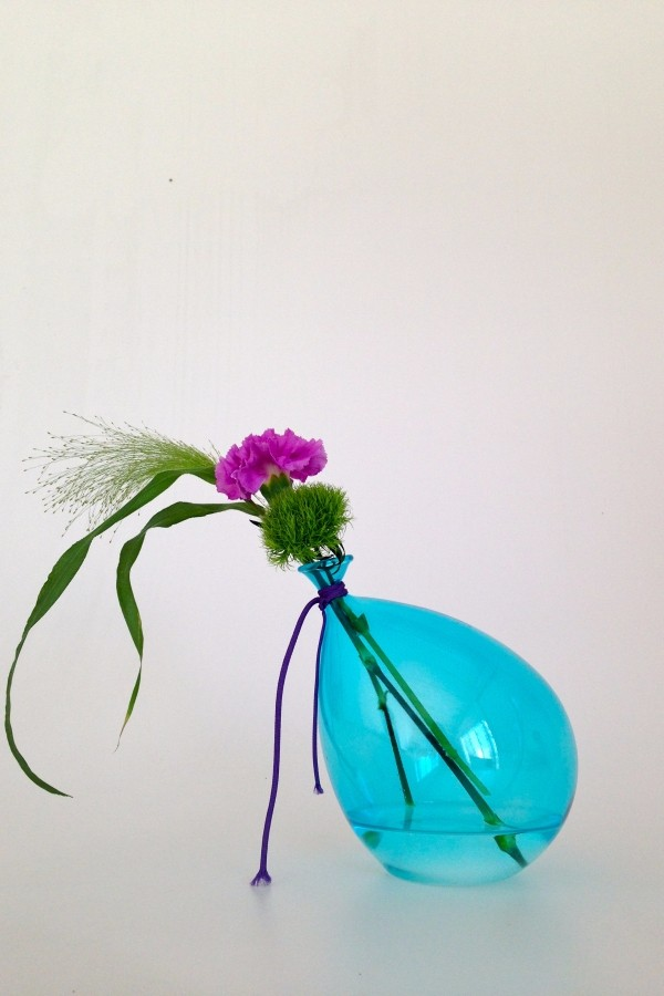 "Hand-Blown Glass, Oblique Balloon, HandMade in Italy, , ""IPalloncini"" collection"