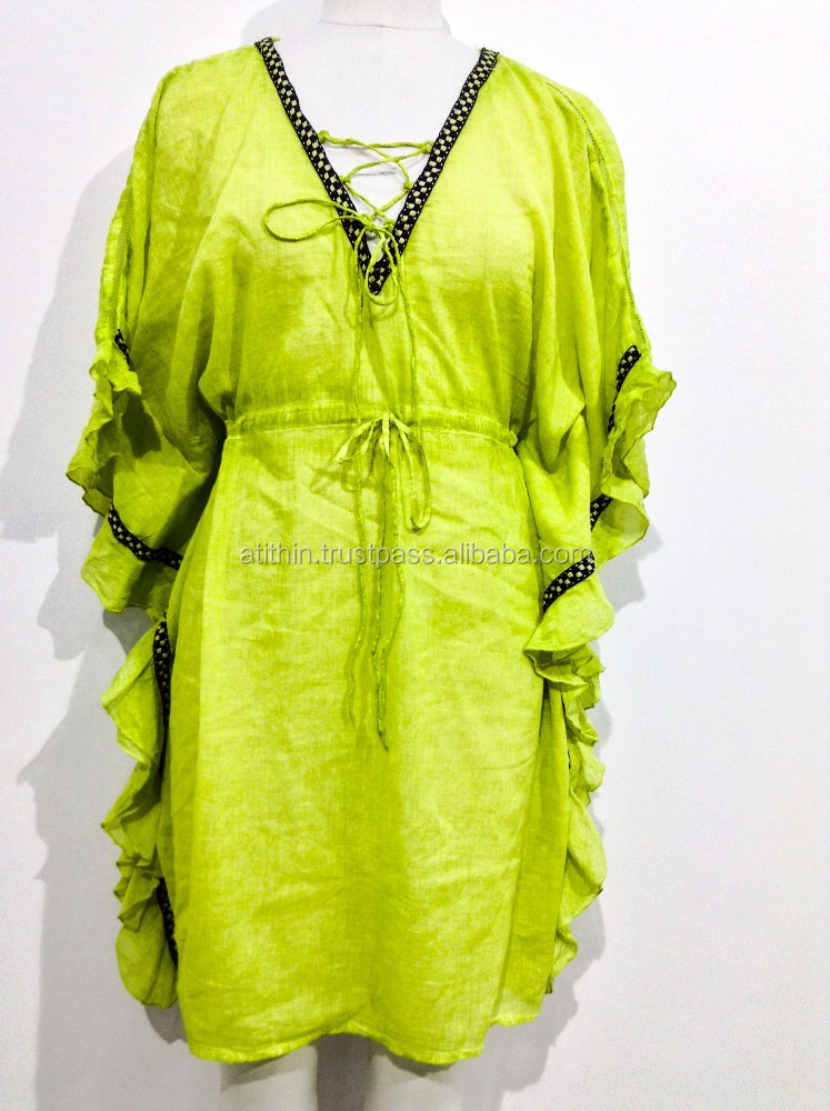 WOMEN WEAR KAFTAN URBANWEAR BLOUSE SANDWASH COLOR AVAILABLE