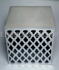Casted Aluminium Side Table / Square Shape Sofa Side Table ...