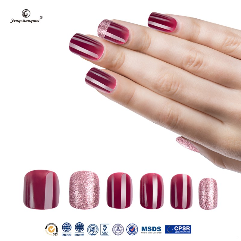 Fengshangmei Wholesale Artificial Fake Finger Nails Fashion Nail ...
