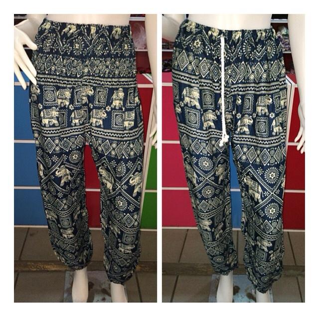 c1b79ca8c6a8 Harem Elephant Pants