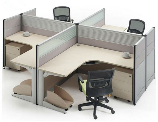 stainless steel office desk set work station for saving space and